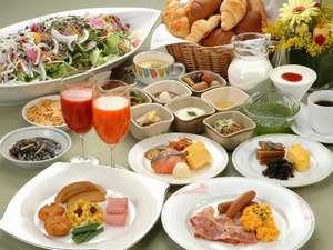 30種類の和・洋 朝食バイキング