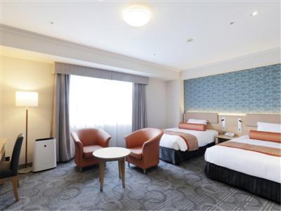 幅広いニーズに応える多彩な客室は、広々としたゆとりある造り
