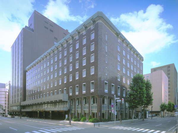 JR札幌駅から徒歩約8分、伝統と格式ある札幌の名ホテル