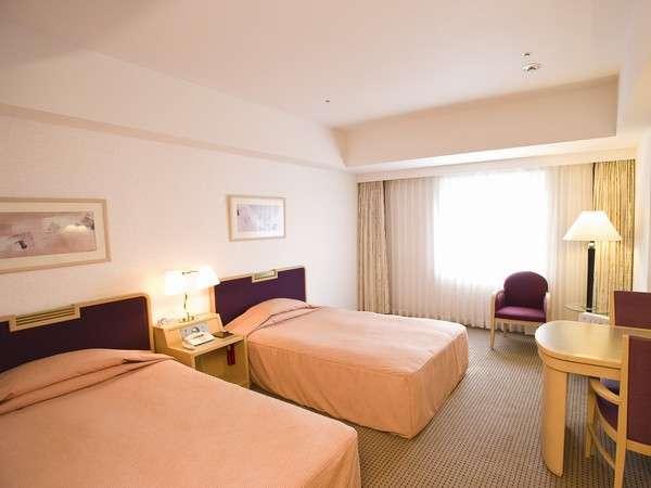客室例:26~30平米のツインルーム