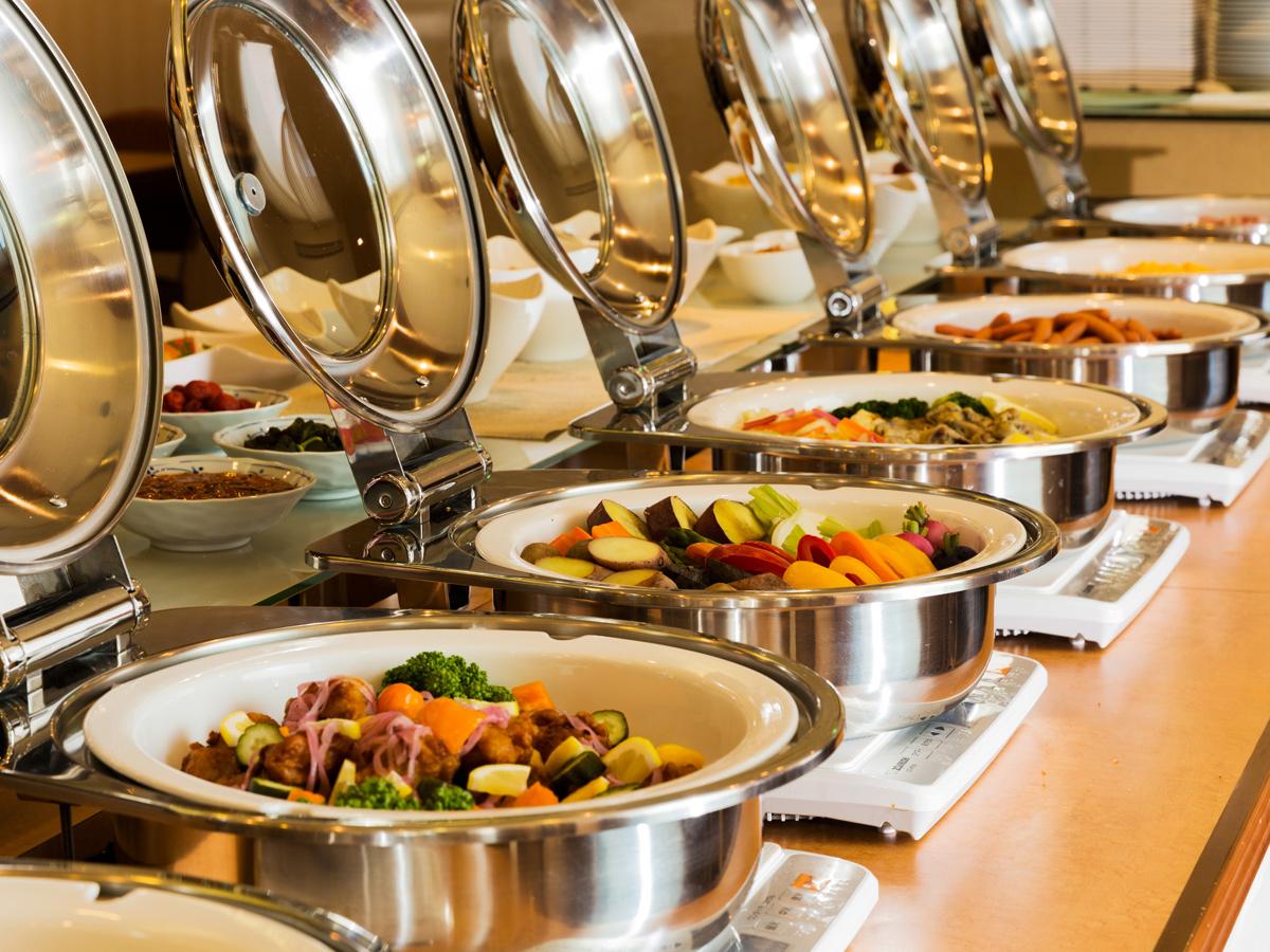 和食派・洋食派も満足の品揃え