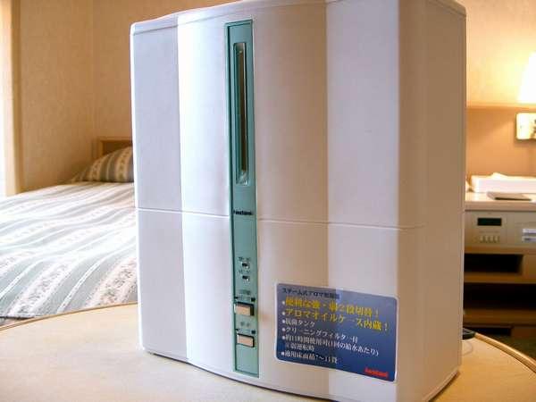 加湿器・空気清浄器は貸出になります