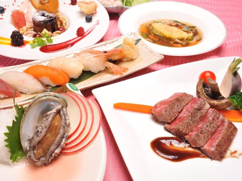 創作フレンチレストラン「華蘭亭」ではランチとディナーでの営業