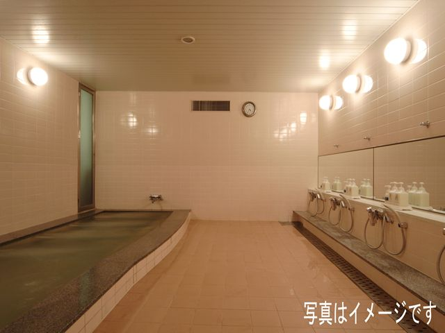 サウナ付きの大浴場を完備