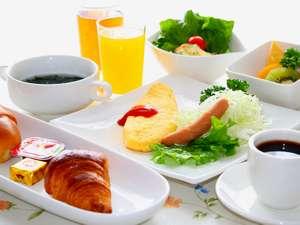 道産食材を中心とした朝食