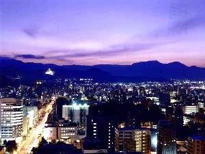 高層階客室からは札幌の街の夜景が楽しめます