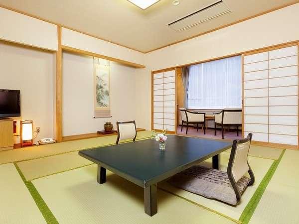 スタンダードな和室は10畳~12.5畳