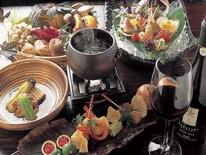 季節ごとに変わる手作りにこだわった夕食