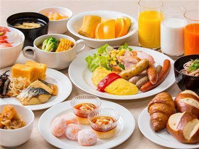 北海道ならではのメニューが充実したバランスの良い朝食ビュッフェ
