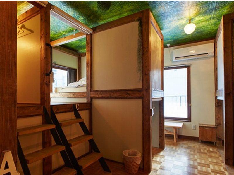 プライバシーに配慮したアーバンゲストハウス