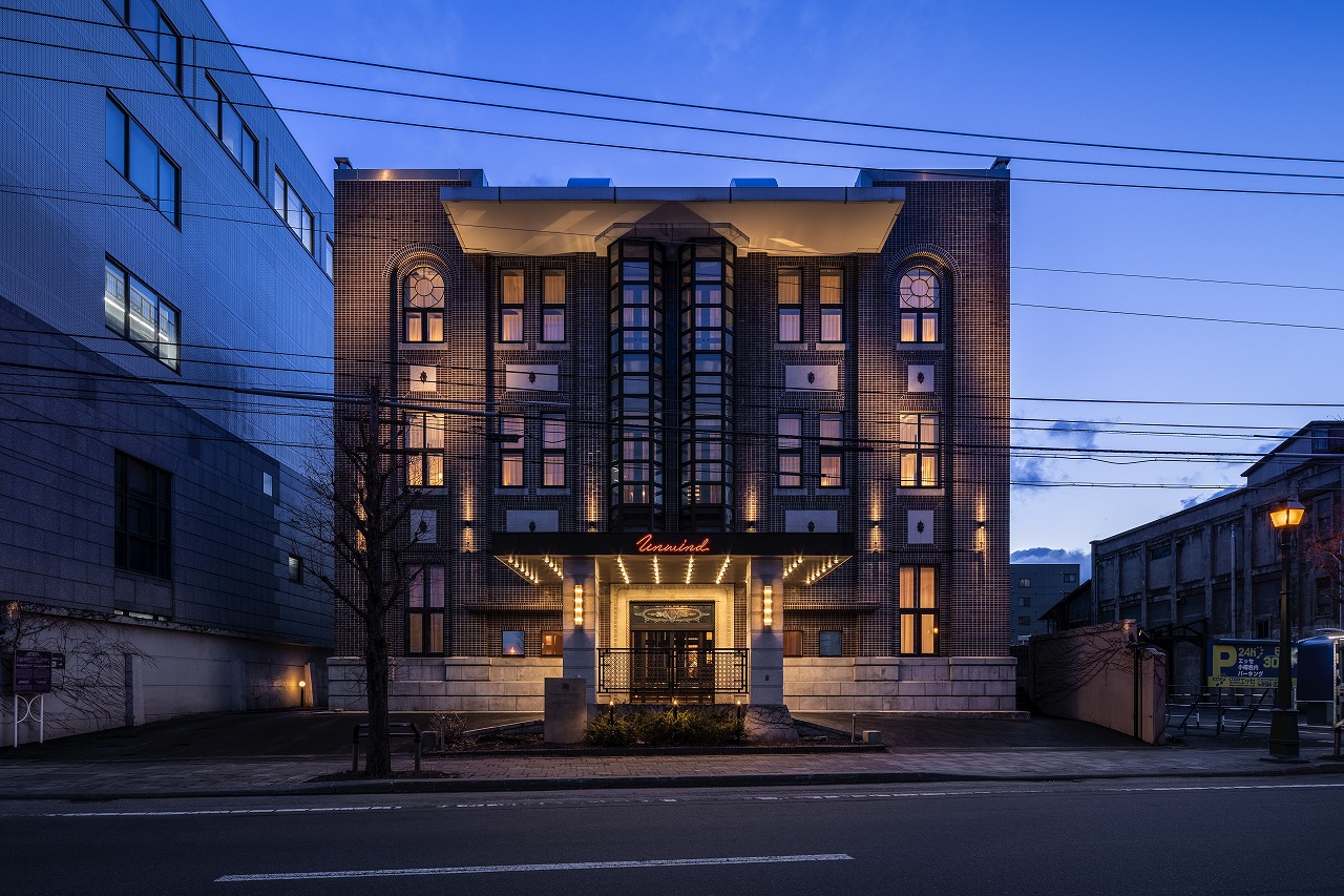 歴史的建造物をリノベーションしたクラシックホテル