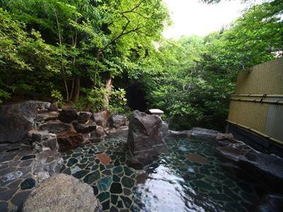 貸切露天風呂「滝見の湯」(1回50分1600円・予約制)