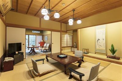 それぞれコンセプトの異なった趣の感じられる客室。