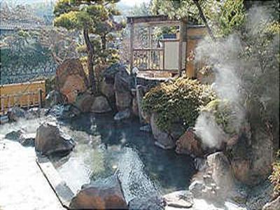 嬉野川がすぐそばを流れる露天風呂