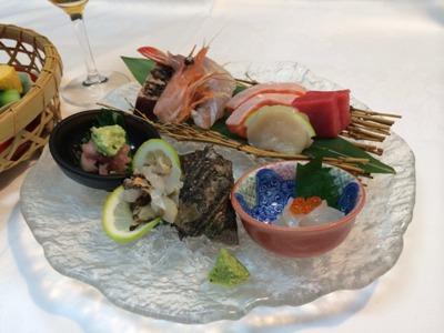 川魚や山菜中心の料理(一例)