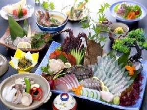 魚介類をふんだんに使った料理