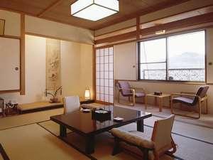【12畳和室「ZEN(ぜん)」】シンプルな造りが人気の客室