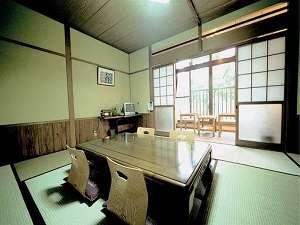 棚田一望の寛ぎの客室