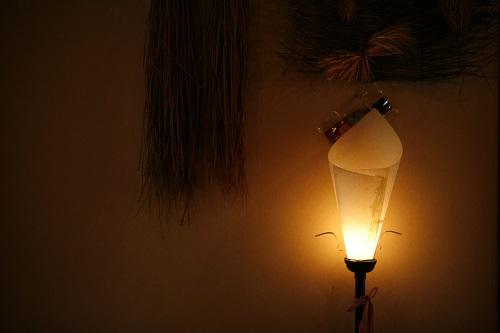 部屋内の照明・小物などにも心配りが見られます。