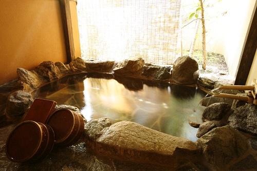 客室露天風呂 良質の湯を好きな時に好きなだけ・・・