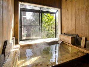 客室付、自家源泉かけ流しのしゃらの湯 お気の向くままお浸り下さい。