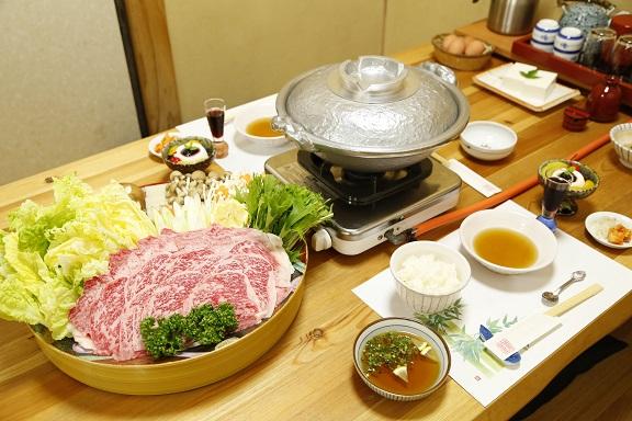 豊後牛しゃぶすき鍋