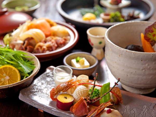 新鮮な地の食材を使った料理の数々は野菜メイン