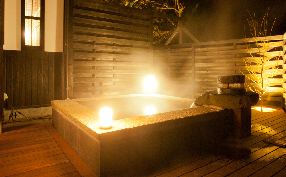 龍馬 客室露天風呂