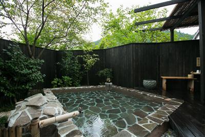 女風呂の露天風呂