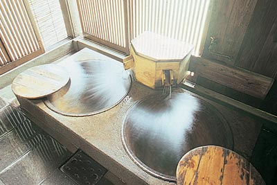 貸切風呂「ちゃがまの湯」