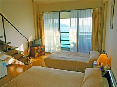 【メゾネット客室一例】6名までご宿泊可能なメゾネットタイプのお部屋。