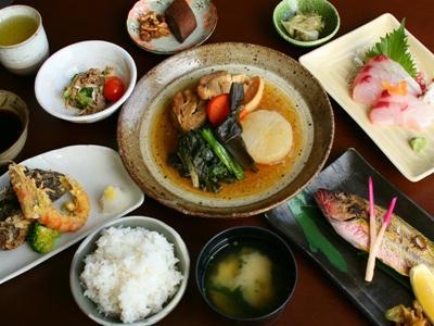 ■郷土料理を中心の和食コース一例■