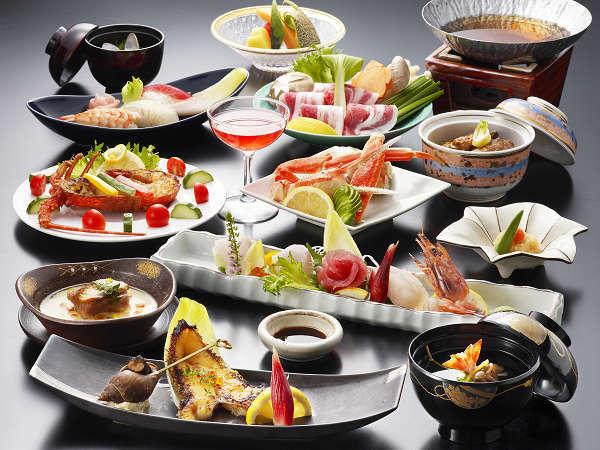 霧島の郷土料理などを含む、和食の会席『和み会席』