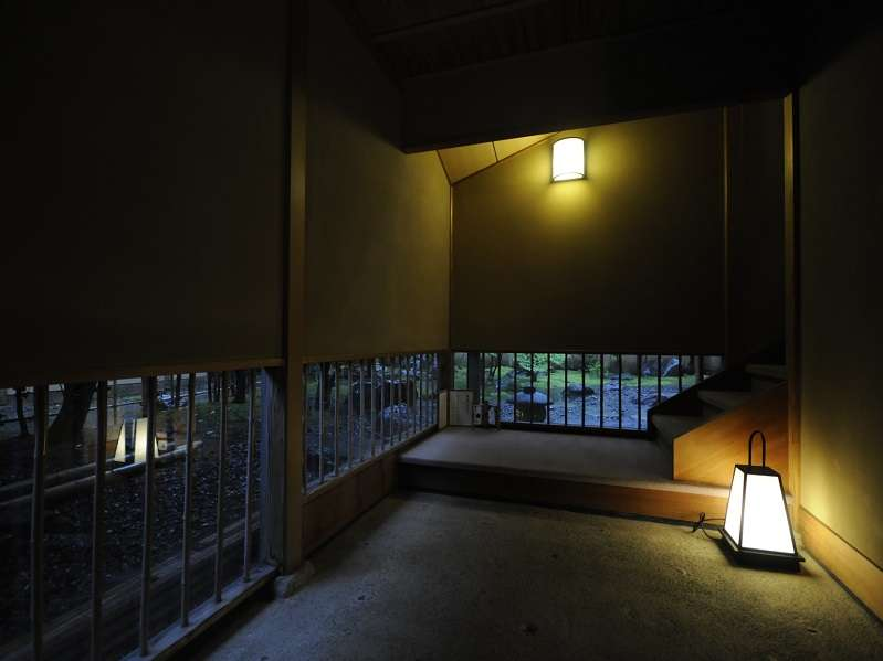 【紫雲庵】唯一2階にある離れ