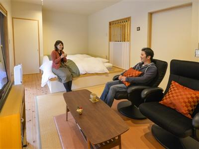 客室は、Aタイプ・Bタイプ・Cタイプの3つ。
