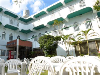 西表島祖納集落にあるミニホテル
