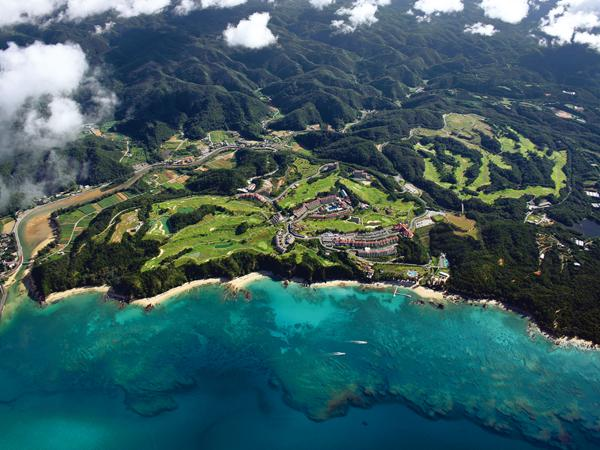 敷地面積は約80万坪  圧倒的なスケールが特徴な東海岸リゾート