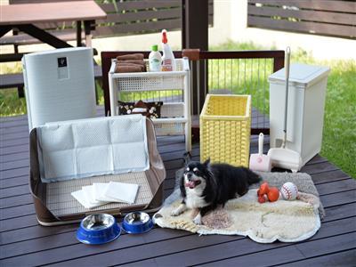 ペット専用のアメニティーやドッグランがある