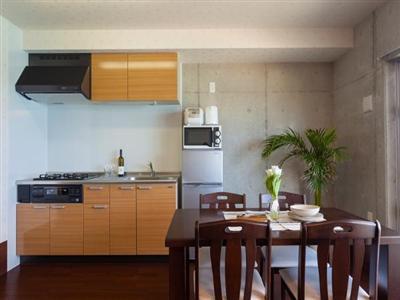 全てキッチン付き客室なので、持ち込んだ食材で自由に料理を楽しめます。