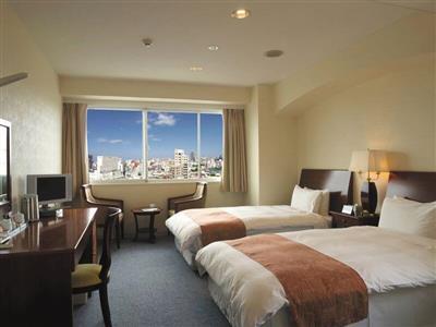 ビジネスやひとり旅にも。機能性と快適性を兼ね備えた客室