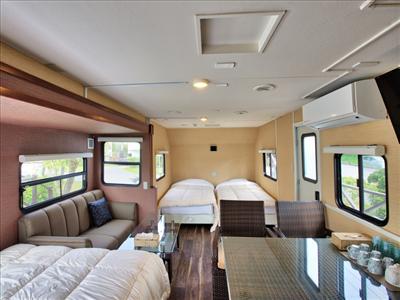 35平米の広々空間。快適に過ごせる「ファミリールーム」
