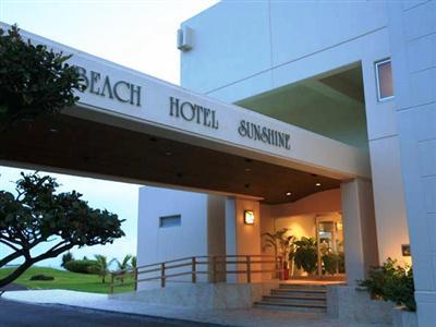 ホテル玄関の風景