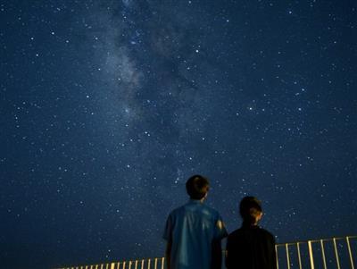 本土では見えない南十字星も楽しめる星空観測