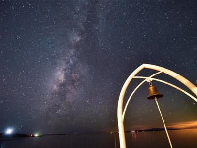 12月~6月までは南十字星を眺めるチャンス