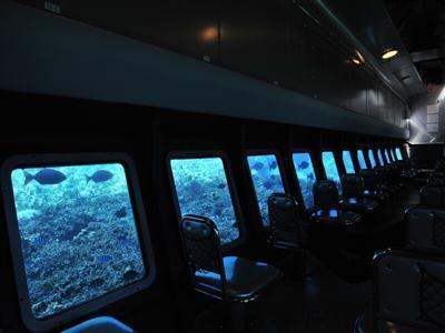 水中観光船で、季節や年齢を問わず宮古島の海を満喫