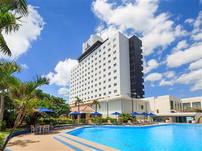 石垣島の中心に位置する「シティリゾートホテル」