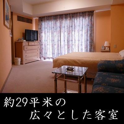 約29平米の広々とした客室