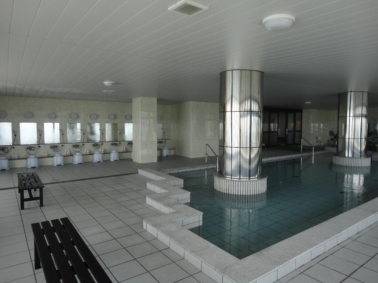 大浴場からもオーシャンビューで心身ともにリフレッシュできます。