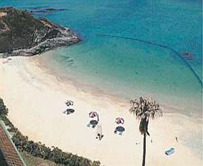ホテルの目の前がビーチでリゾートを満喫できる環境が整っています。