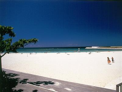 トロピカルビーチはぜひサンセットタイムに訪れて